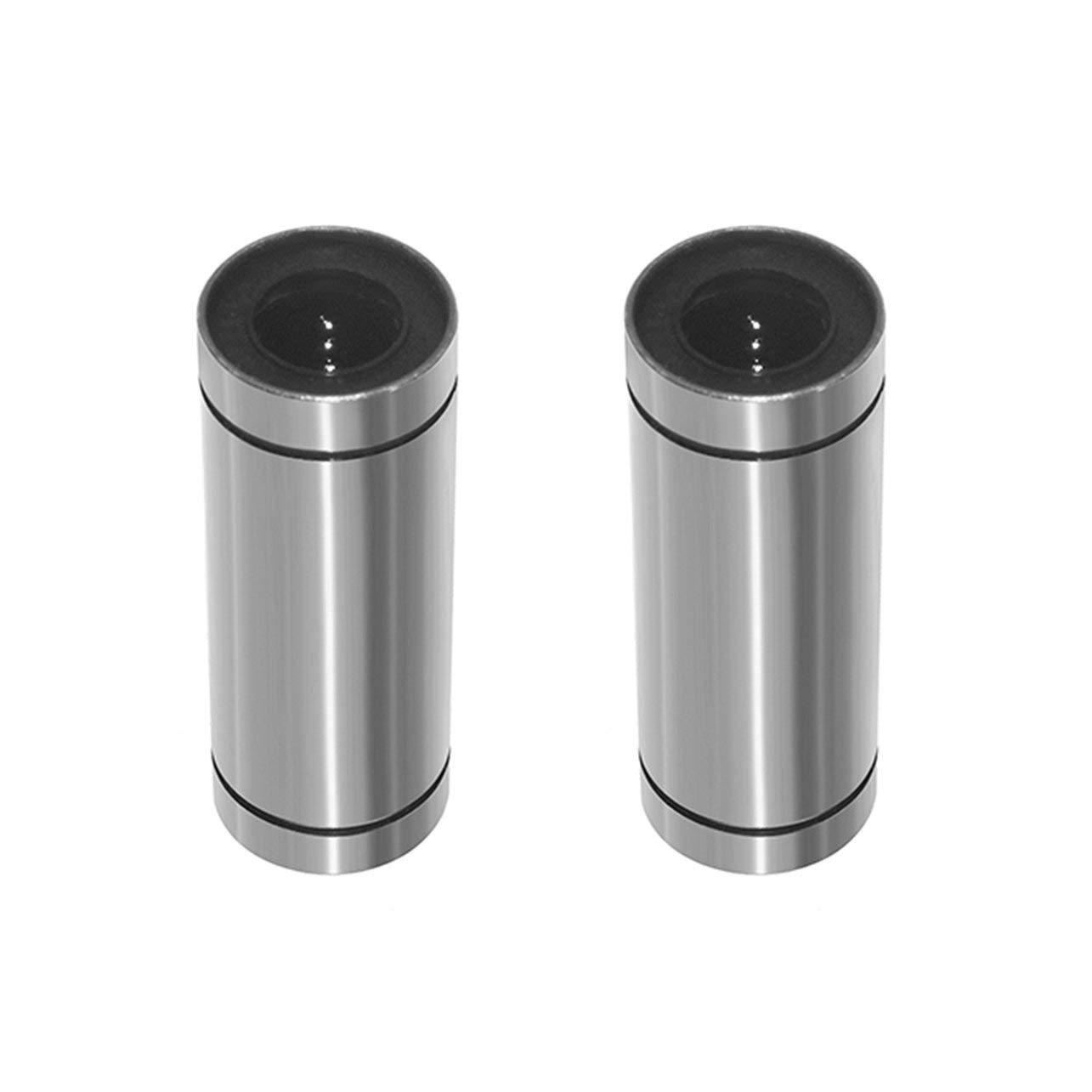 2 piezas/porción de bolas lineales LM10LUU Rodamientos Crucigrama ...