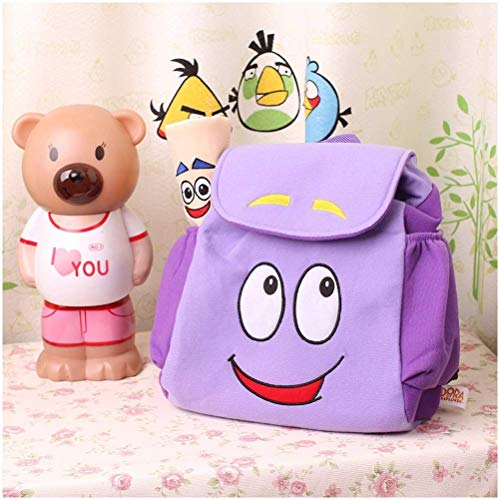 mrGood Dora Explorer Backpack Rescue Bag Map,Pre-Kindergarten Toys Purple 1dora The Explorer Dora la -