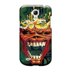 Samsung Galaxy S4 Mini RoR29332GKvf Allow Personal Design Nice Iron Maiden Virus Series Shockproof Hard Phone Cover -LeoSwiech