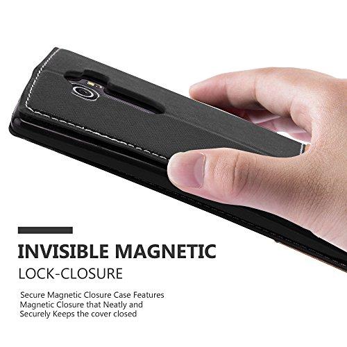 Cadorabo - Funda Estilo Book para >                                                  LG OPTIMUS G4                                                  < de Diseño gamuza-Artificial / Cuero-Artificial con Tarjetero, Función de Soporte y Cierre Magnético Invisible