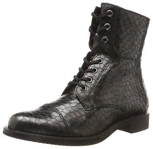 black buffed Silver Stivali Ecco Donna Nero Shape 25 CwaXqza