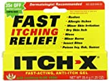 Itch-x Anti-Itch Gel with Aloe Vera, 3 Count