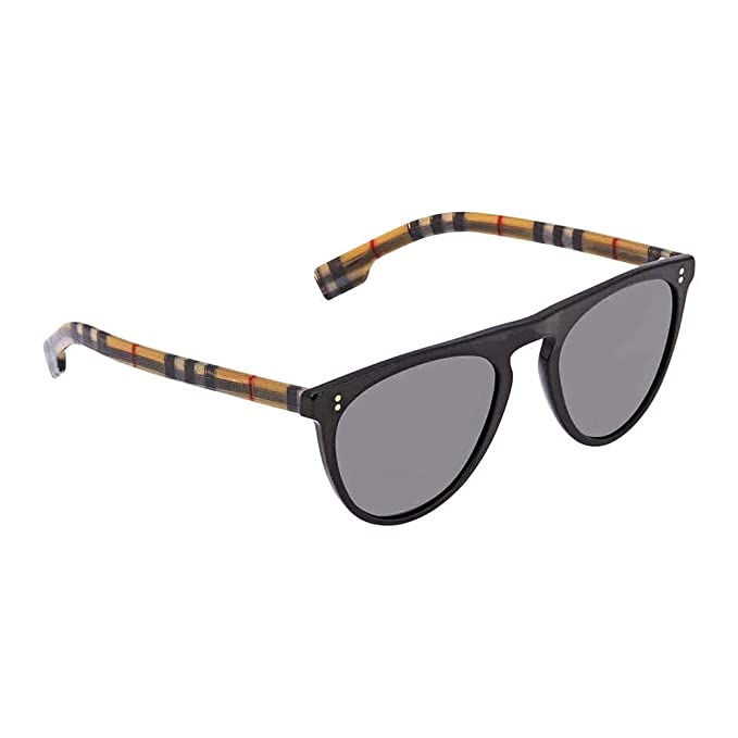 Amazon.com: Burberry BLUEBIRD BE 4281 BLACK/GREY 54/21/145 ...