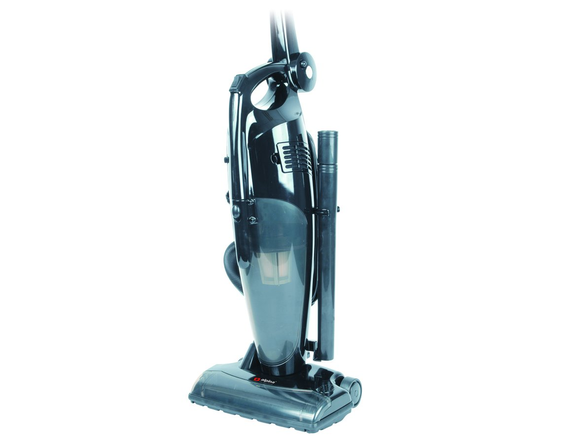 Alpina SF-2209 Upright Bagless Cyclonic Vacuum Cleaner 220/240 Volt with Folding Handle, 1400W (Not For USA ) - Corded