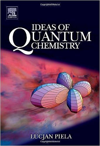 Ideas Of Quantum Chemistry Book Pdf