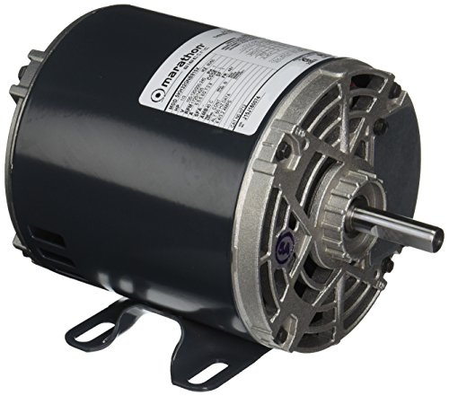 - Marathon H712 48Y Frame 5KH32GNB815X Open Drip Proof Carbonator Pump Motor, 1 Split Phase, Rigid Base, Ball Bearing, 1/3 hp, 1800/1500 RPM, 2 Speed, 100-120/200-240 VAC