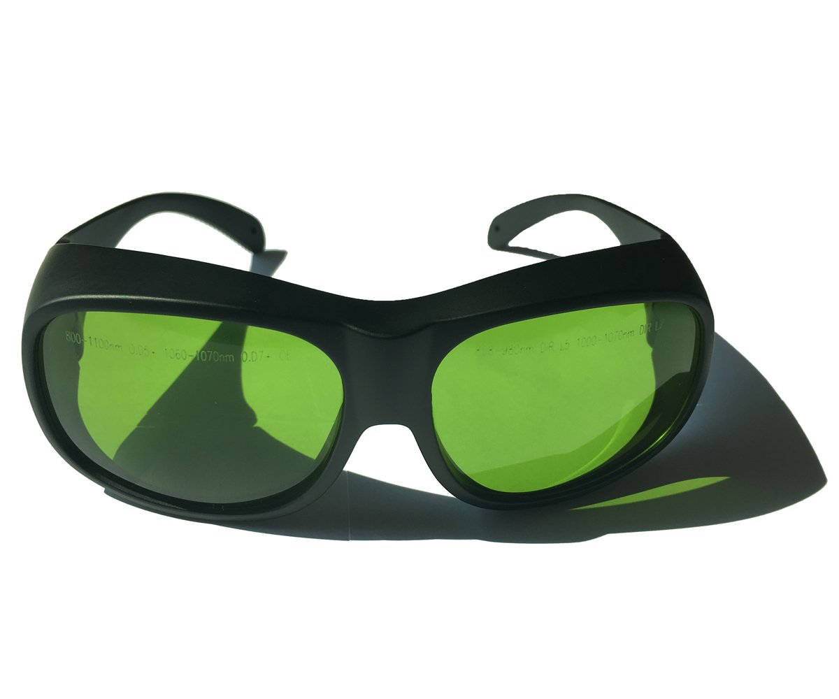 LP-LaserPair Laser Glasses 800 - 1100nm Absorption Type of Laser Protective Glasses Diode, Nd:yag Laser Protection Glasses Multi Wavelength 808nm, 980nm, 1064nm, Laser Safety Glasses by LP-LaserPair (Image #3)