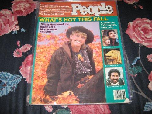People Weekly (OLIVIA NEWTON-JOHN , Burt & Goldie , Richard Pryor , Monster Hit !, September 6 , - Canada Gucci