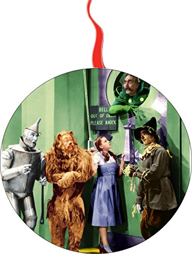 (Wizard of Oz The Wizard Christmas Tree Holiday Ornament Printed Double- 2 Sided Decoration Great Unisex)
