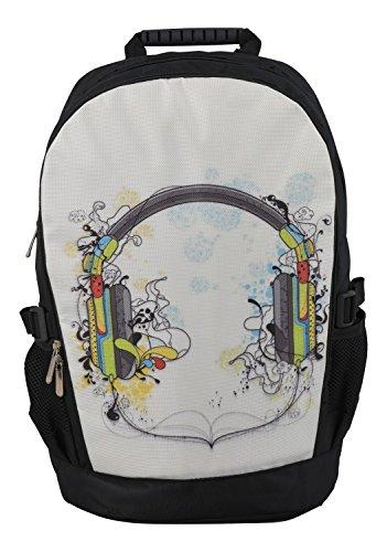 MySleeveDesign mochila cartera con compartimento para portátiles �?VARIOS DISEÑOS Headphones