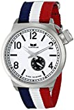 Vestal Unisex CAN3N01 Canteen Zulu Stainless Steel Watch with Nylon Band