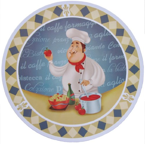 Italy Fat Pizza Chef Electric Stove Burner Covers (4)
