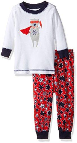 Gymboree Boys Big Patterned Tight-fit Pajamas