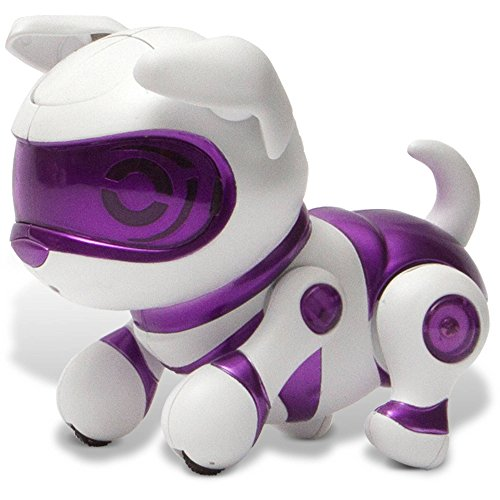 Tekno Newborns Pet Robot Dog, Purple