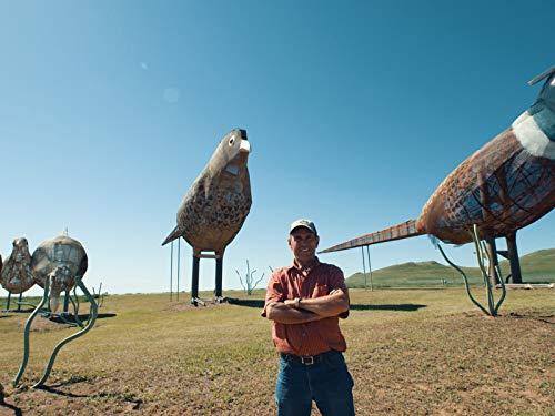 Giant Sculptures Decorate North Dakota's Enchanted Highway ()