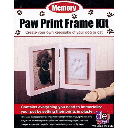 Paw Prints Photo (Pawprint Picture Frame Keepsake Kit)