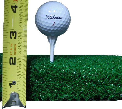 All Turf Mats 48 X 60 XL Super Tee Golf Mat – Holds Any Size Wooden Tee