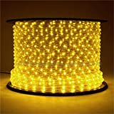 Northlight  Commercial Grade Yellow LED Indoor/Outdoor Christmas Rope Lights On A Spool, 150'