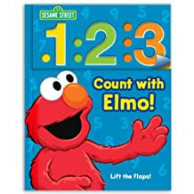 Sesame Street: 1 2 3 Count with Elmo!: A Look, Lift, & Learn Book