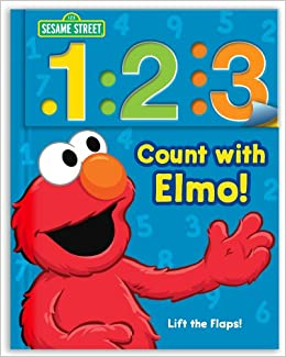 Amazon.com: Sesame Street: 1 2 3 Count with Elmo!: A Look, Lift ...