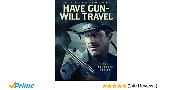 Amazon Have Gun Will Travel The Complete Series Richard Boone