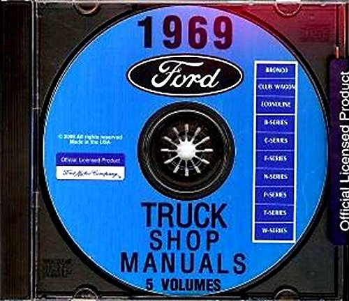 All Models Of 1969 Ford Truck Repair Shop Manual CD Includes Pickup Bronco Van F100 F250 F350 E100-E350 - Ford F250 Pickup Radiator