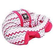 Hugaboo Chevron Infant Seat, Hot Pink/Grey/White