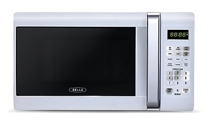 e34a9e3718 Amazon.com  Bella 700-Watt Compact Microwave Oven