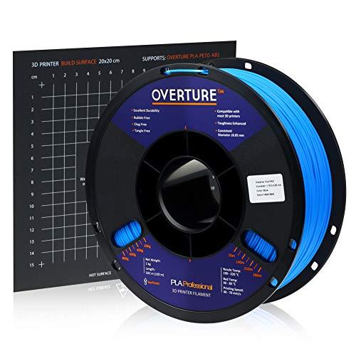 Overture PLA Plus (PLA+) Filament 1.75mm PLA Professional Toughness Enhanced