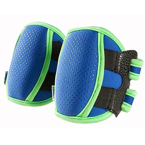 1 Pair Blue Anti-skid Elbow Pads Leg Warmer Toddler Knee Pro