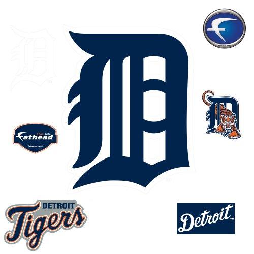 MLB Detroit Tigers Classic Logo Wall Decal