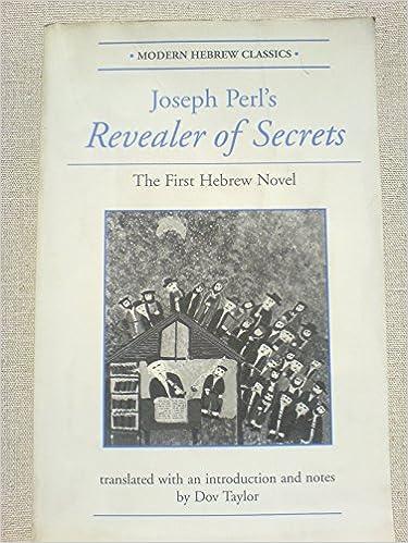 Image result for Joseph Perl, Revealer Of Secrets: