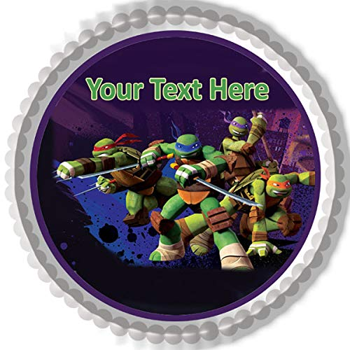 Teenage Mutant Ninja Turtles - Edible Cake Topper - 6