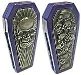 Eclipse Assorted Purple Skull Designs Crushpoof