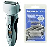 Panasonic Arc3 Electric Razor ES8103S with Inner/Outer Replacement Blades Included