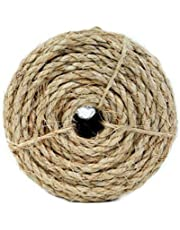 Koch Industries Twisted Sisal Rope, 1/2 Inch by 50 Feet, Natural, Coil