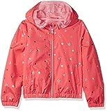 Pink Platinum Girls' Printed Windbreaker Jacket with Mesh Lining