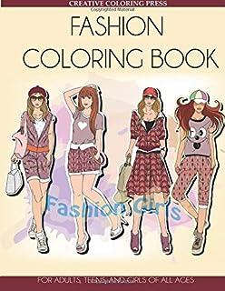 Amazon Com Fashion Coloring Books For Adults Fun Fashion And Fresh