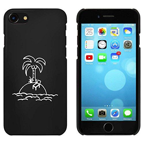 Noir 'Île Déserte' étui / housse pour iPhone 7 (MC00058869)