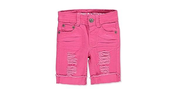 De Cortos Terciopelo NiñaRosado12 Rosa Para Bermuda Pantalones OkuTXPZi