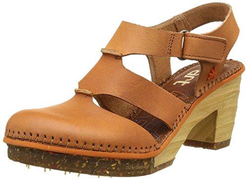 Zapatos marrones de primavera de punta abierta formales Art Amsterdam para mujer Botas de danza de tela Rumpf 1561 Rosa - Tamaño 36 1/2  Color Negro  Negro/Azul/Amarillo N5u7J7VJ