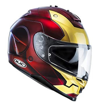 HJC IS-17 IRONMAN MC1 MARVEL -Casco de moto de prasol, Gr.