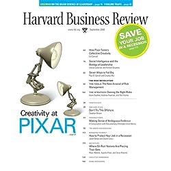 Harvard Business Review, September 2008