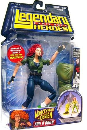 (Legendary Comic Book Heroes Series 2 Ann O'Brien Variant Ver Figure)