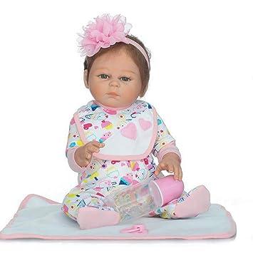 CHENG Renacimiento Realista muñeca simulación bebé Puede ...