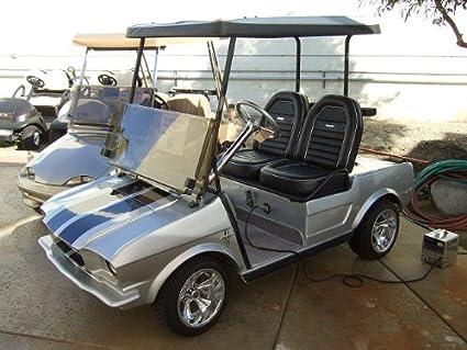 Amazon com: 65' Mustang Golf Cart Body for Club Car