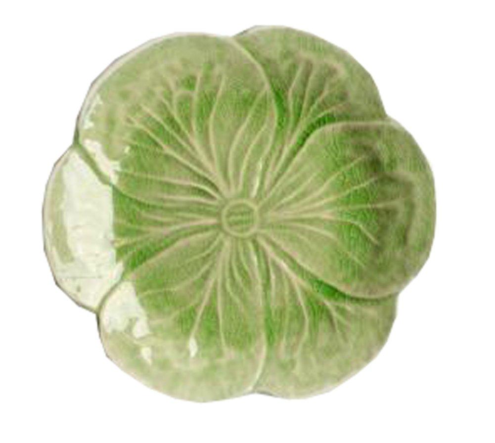 CeramicsフラットデザートケーキDish Platter Candy Dishesウェディングサラダプレート7.5インチ( Light Green )   B07BRFN85M