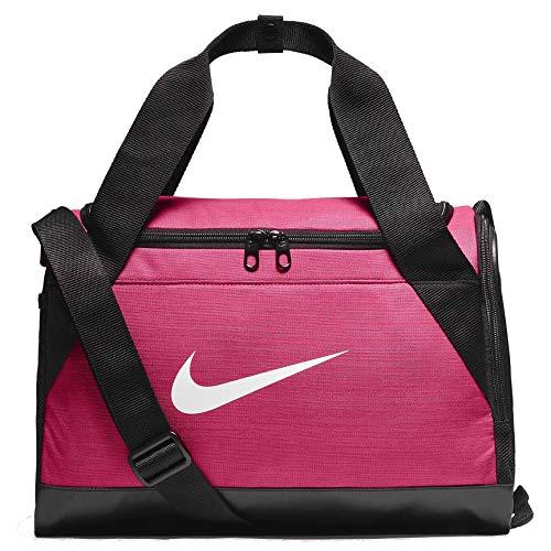 Nike Brasilia Training Duffel Bag, (Extra-Small) Rush Pink/Black/White