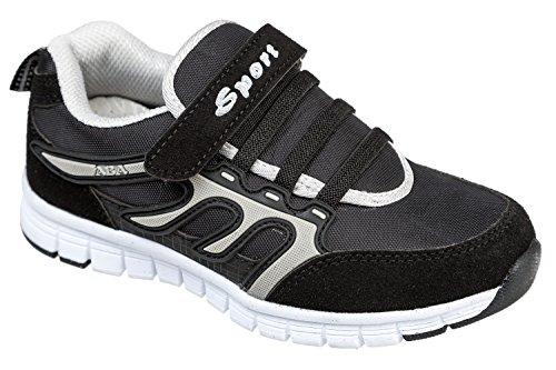 gibra - Zapatillas de Material Sintético para niño Negro - antracita / negro