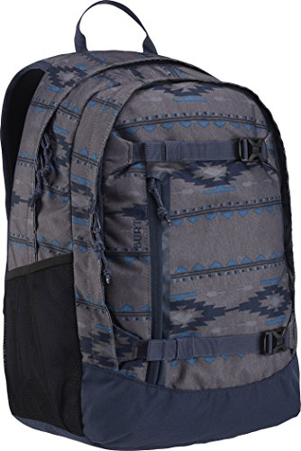 Burton Youth Day Hiker Backpack, Faded Saddle Stripe Kids